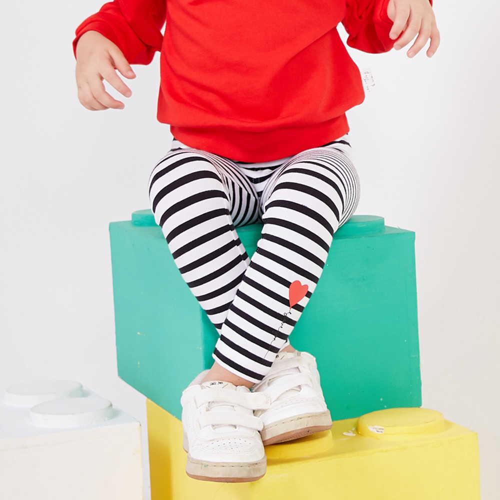 مصغرة Balabala أطفال سروال داخلي قطني المطبوعة للفتيات طفل الاطفال قيعان السراويل الأطفال نحيل Sweatpants مع مرونة الخصر