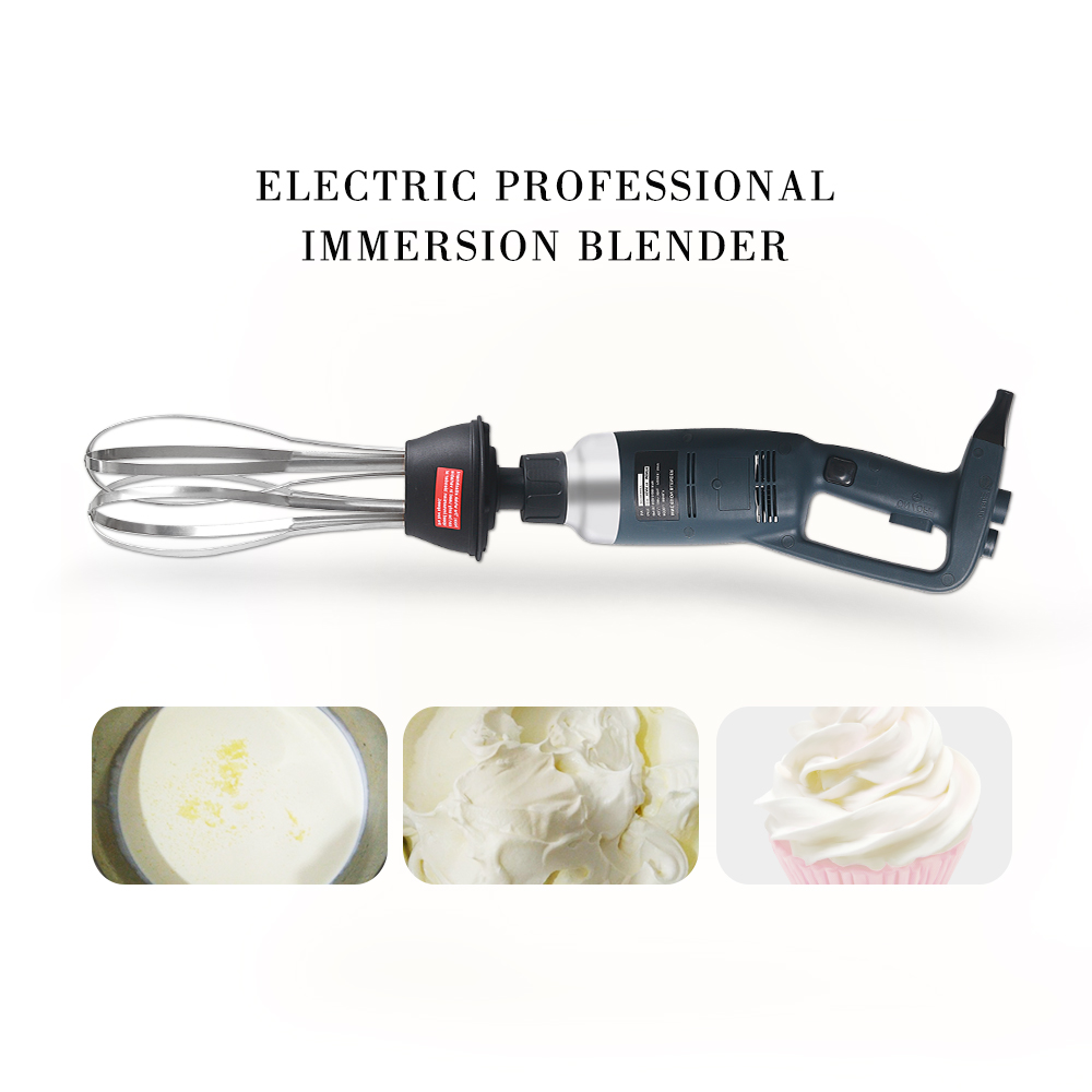 ITOP professional Heavy Duty 350W/500W Blender Machine Handheld immersion blender Ice Cream Food Mixer 110V 220V