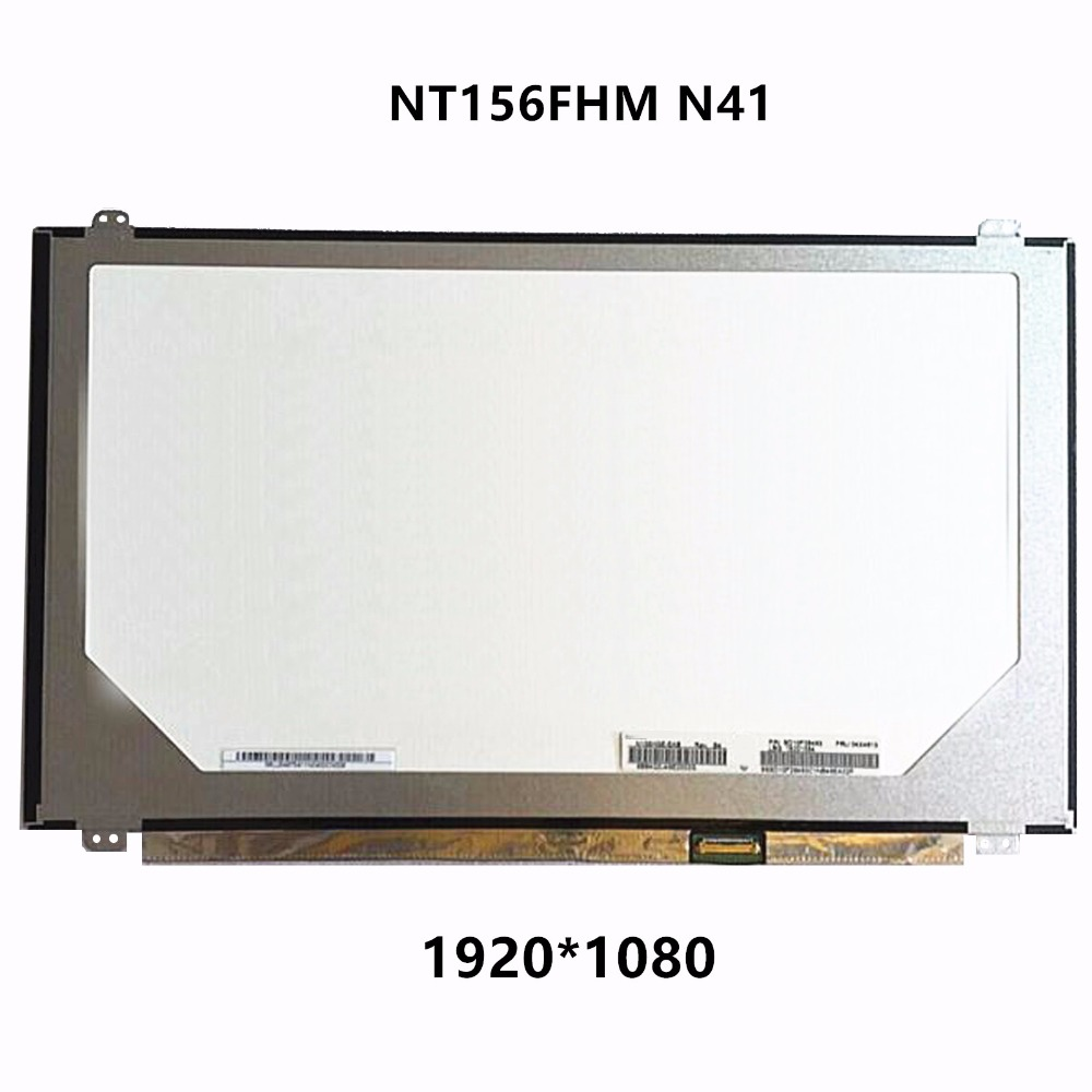 New 15.6'' FHD LED LCD Screen TN Panel Display Matrix Replacement NT156FHM N41 Compatible For Lenovo Flex 2-15 15D Lenovo U530 ips display for lenovo fru 00ny418 pn sd10k93456 lcd screen led 12 5 matrix for laptop panel replacement