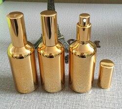100ml golden high grade glass body lotion bottle wholesale 100 ml glass spray pump bottles for.jpg 250x250