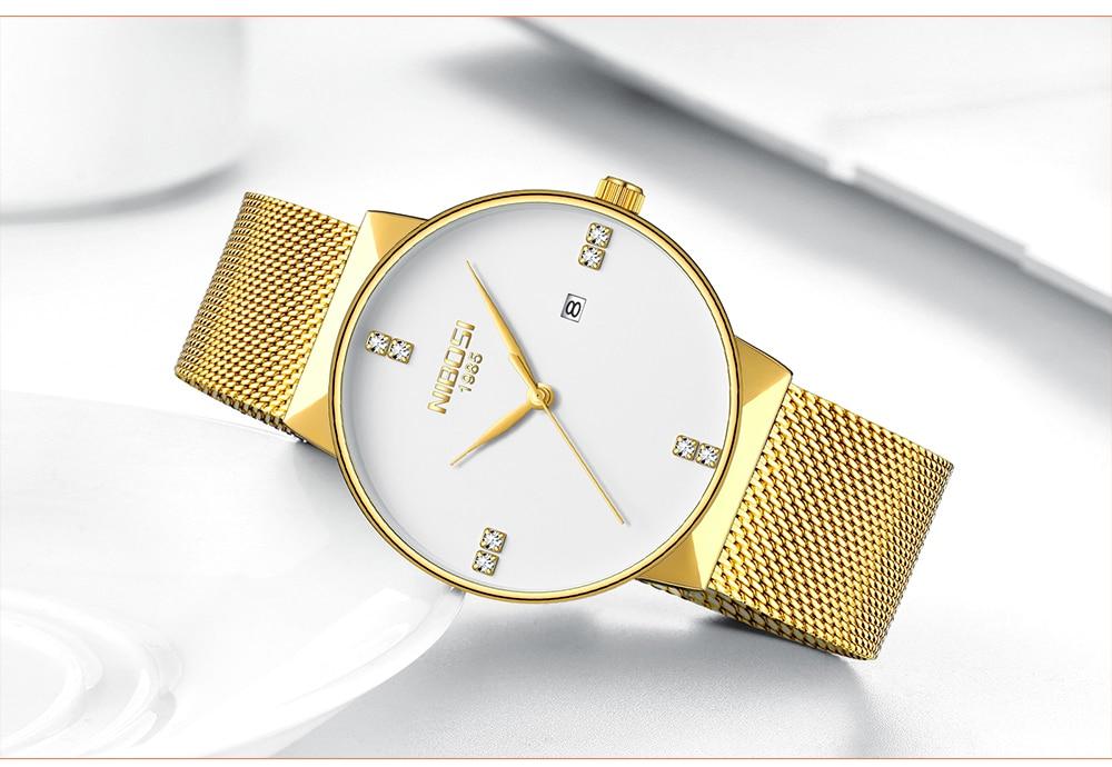 NIBOSI 2018 New Fashion Simple Watch Slim Mesh Band Mens Dress Watches Top Brand Luxury Male Relogio Masculino Quartz Wristwatch (17)
