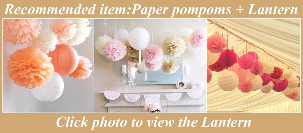 paper poms