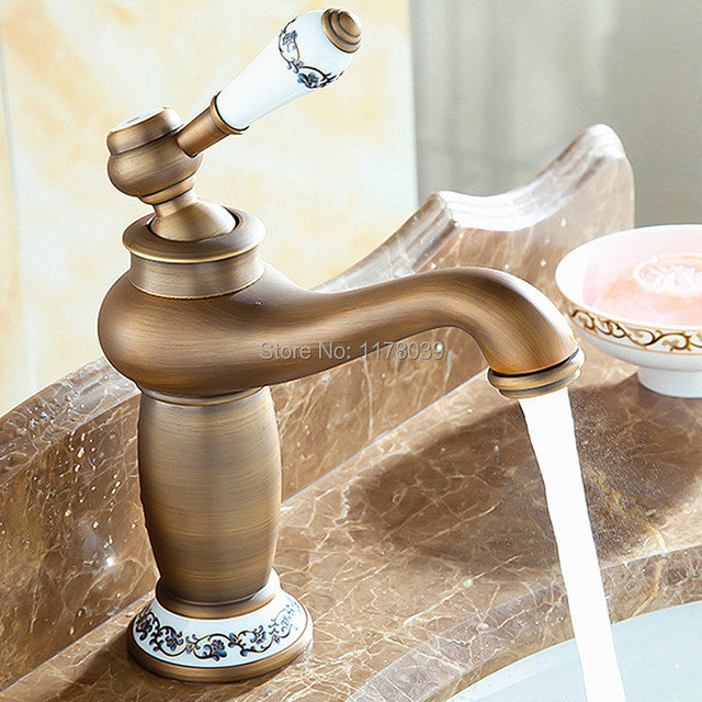 Antique Brass Bathroom Faucetsbronze Bathroom FaucetsEuropean - Brushed brass bathroom faucets