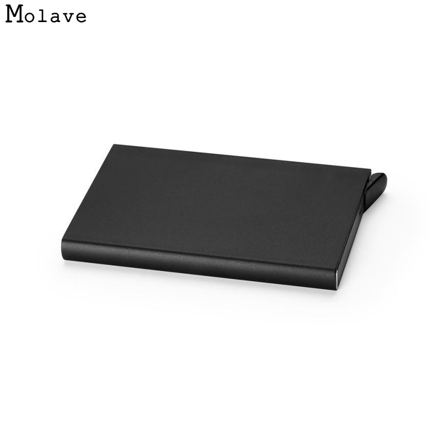Naivety Solid Alloy Credit Card Package Business Card Holder Case ...