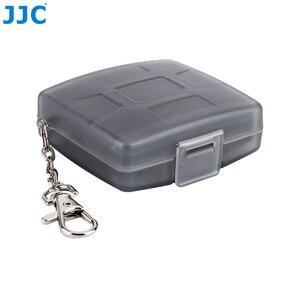 Image 3 - JJC Speicher Karte Fall 4 SD + 4 TF Kamera Mini Compact Tough Halter Wasser Beständig Lagerung Karten Box