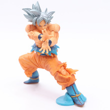 Dragon Ball SUPER The Super Warriors Special Ultra Instinct Son Goku PVC Figure Gokou Collectible Model Toy 17cm