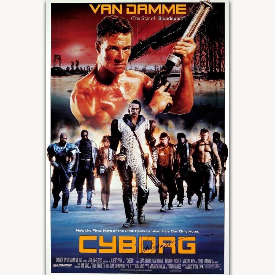 film cyborg van damme