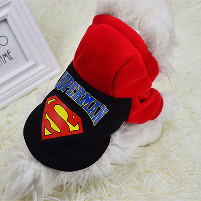 Superman Pet Warm Coat