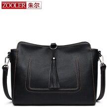 $ Number de lucro ZOOLER alta calidad bolsa de mensajero de las mujeres de lujo bolso de cuero suave genuino mujeres bolso de hombro del diseñador bolsa feminina #8156