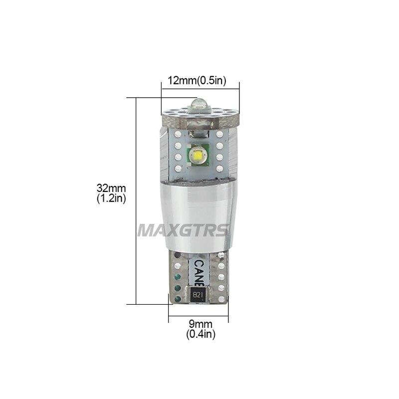 2Pcs T10 W5W 15W 1350lm υψηλής ισχύος Cree Chip XP-E - Φώτα αυτοκινήτων - Φωτογραφία 2