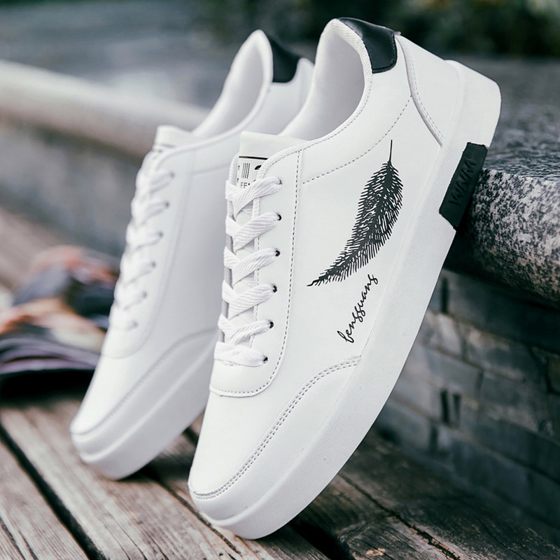 Spring Fashion Men Vulcanize Shoes Brand White Sneakers Men Shoes Outdoor Walking Male Shoes Adult Breathable Men Casual Shoes(China)
