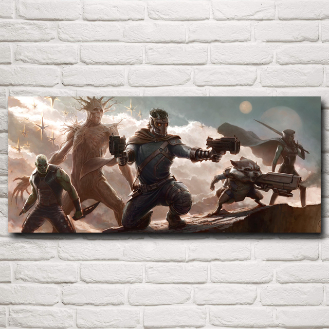 Batista Guardians of the Galaxy Movie Art Silk Poster Prints Home Decor Pictures 10×23 12×28 15×35 20×46 Inches Free Shipping