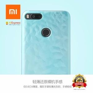 Image 5 - Xiao mi mi A1 mi 5X yeni orijinal DURUMDA Tampon Ekran Koruyucu Film PET mi 5x (mi a1) plastik Renk Değişiklikleri Zaman Işık Soyut
