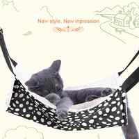 Pet Hanging Bed Polk Dot Polyester Pet Rat Rabbit Chinchilla Cat Cage Hammock Small Animal Bed Cover Bag Blankets