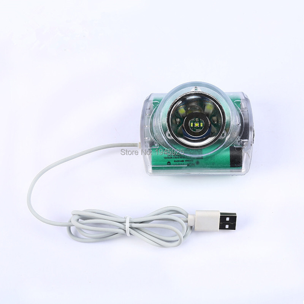 12000LUX 6200mA Cordless Led Mining Head Lamp headlamp Super Bright For Mining Hunting Camping Light Can