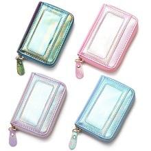 Серебряная Голограмма лазерная косметичка для женщин косметичка для макияжа розовые органайзеры косметичка для красоты чехол для хранения блесток дорожный макияж сумка