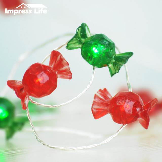 Candy String Lights Christmas Ft LED Copper Wire Remote Wedding - Indoor fairy lights for bedroom