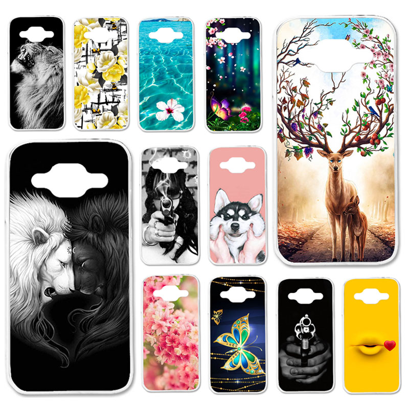 TAOYUNXI Cases For <font><b>Samsung</b></font> <font><b>Galaxy</b></font> <font><b>Core</b></font> <font><b>Prime</b></font> Case For <font><b>Samsung</b></font> <font><b>Core</b></font> <font><b>Prime</b></font> G361 Win 2 Duos TV G360BT G360 G3606 G3608 LTE Covers image