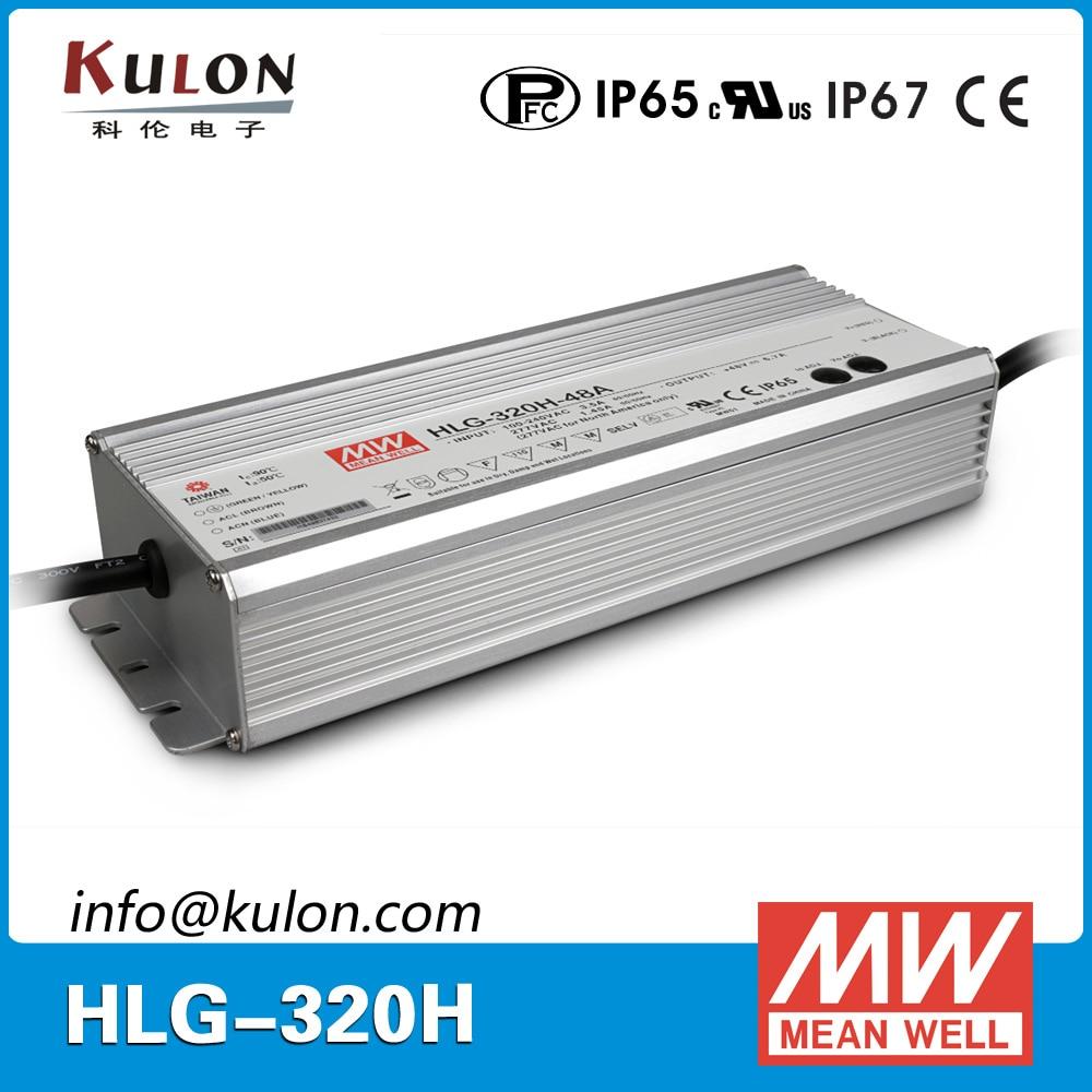 MEAN WELL NEW HLG-320H-C2800B 2800mA 320W C.C LED Supply B TYPE POWERNEX