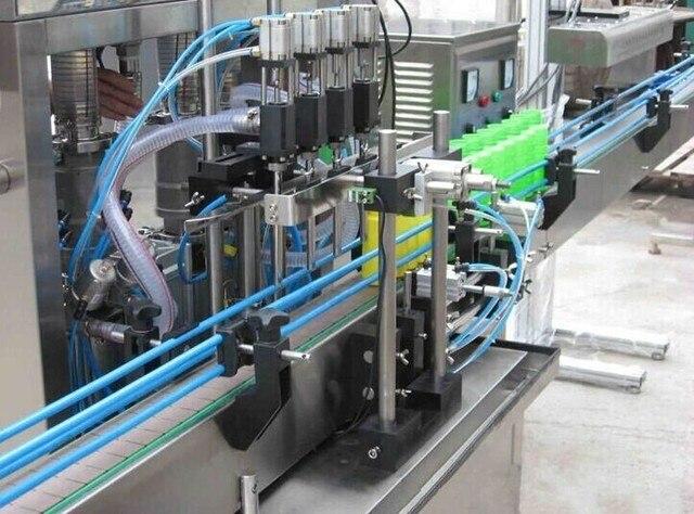 Flasche füllmaschine getränke/essig/reinigungsmittel abfüllung sps ...