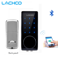 Электронный смарт-замок LACHCO с Bluetooth  приложение для блокировки дверей  код  Deadbolt для дома  отеля  квартиры L16076BSAP
