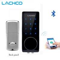 LACHCO Bluetooth Lock Smart Electronic Door Lock APP, Code, Deadbolt For Home, Hotel ,Apartment L16076BSAP