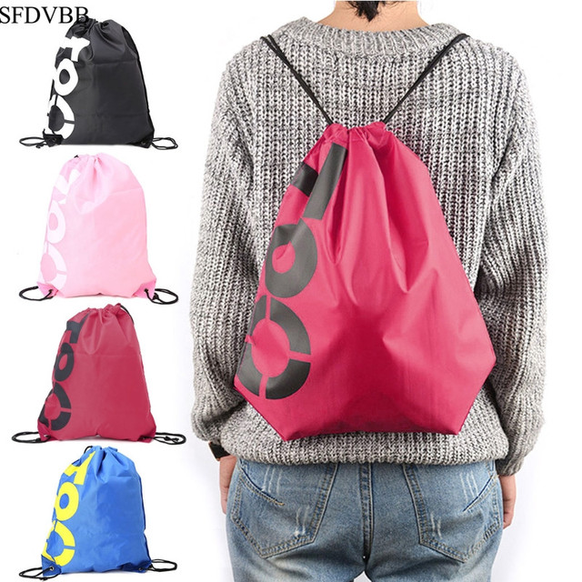 Waterproof drawstring sport bags 1