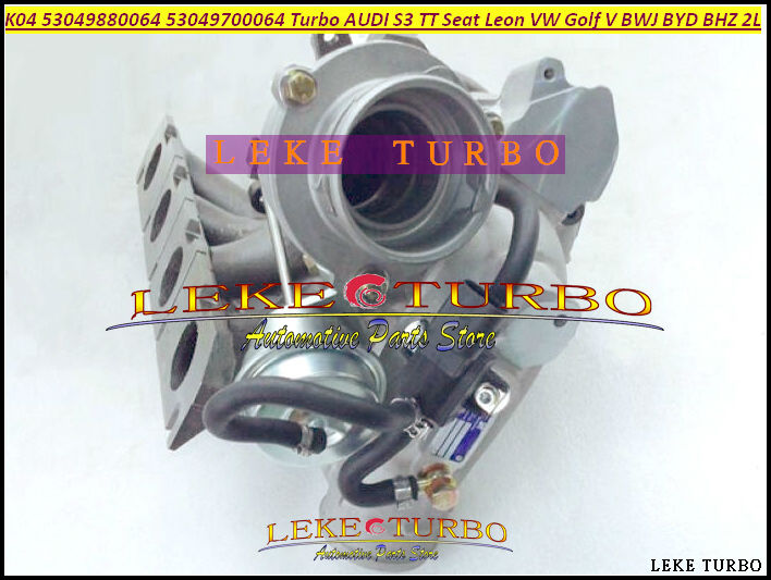 Turbo K04 64 53049880064 53049700064 06F145702C Turbocharger For AUDI S3 TT For Volkswagen VW Golf V BWJ CDLD BYD BHZ 2.0L TFSI epman for vw audi tt s golf r turbo piping kits air charge pipe hi flo air charge pipe ep tpbtk006p