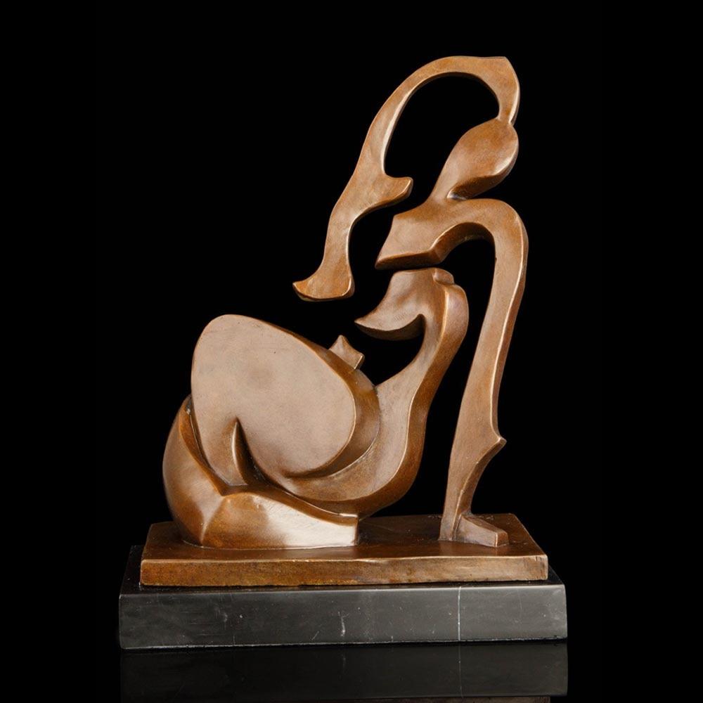 ATLIE BRONZE Abstraktní umění sochařství moderní Art Bronze - Dekorace interiéru