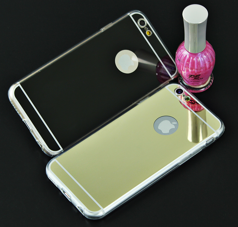 case for iphone 6 6S 7 with round mirror