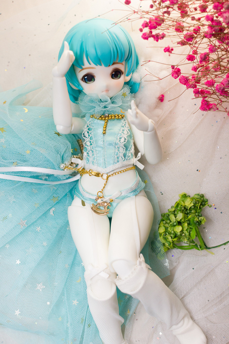 Resin wig and 1 6 scale BJD doll Raggirl free eyes hot dolls resin toy gifts