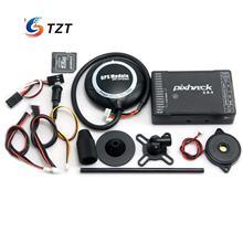 FPV Pixhack 2.8.4 Полета Контроллера 32Bit с Открытым Исходным Кодом на Основе M8N Pixhawk + Ublox GPS с Компасом для Drone Quadcopter