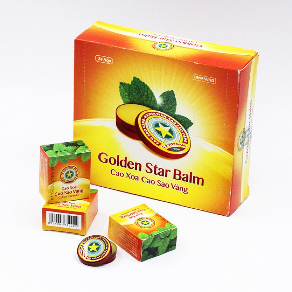 5PCS Anti-Motion Sickness Vietnam Gold Tower Tiger Balm Ointment For Headache Dizziness Insect Stings Essential Balm