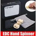 Alta quantidade de Tri-Spinner Fidget Brinquedo Brinquedos Dedo gyro Spinner Torqbar Latão EDC Mão Para O Autismo e TDAH