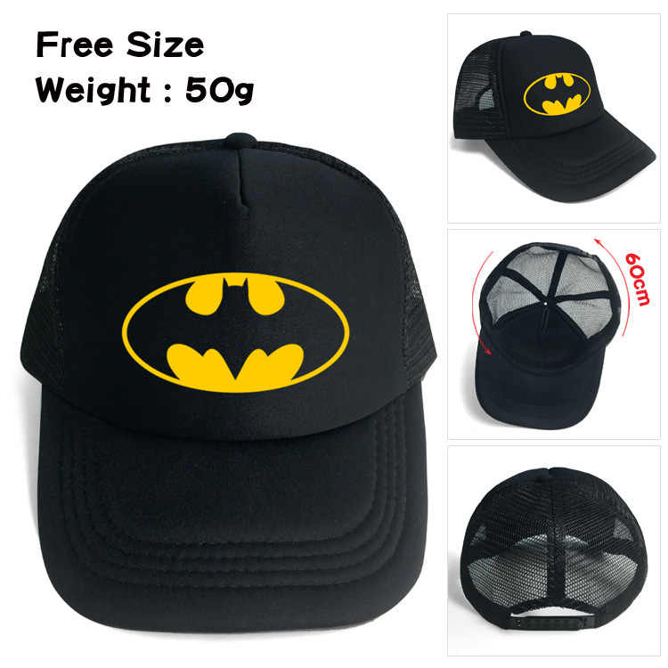 ad4b553d 2018 Sale Neymar Batman Sun Mesh Cap Outdoor Sports Students Anime Baseball  Hip Hop Dad Hat