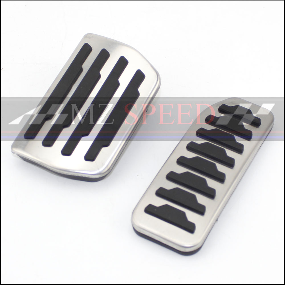 For Freelander 2 AT Car Accessories Pedal Cover Brake And Accelerator Pads...