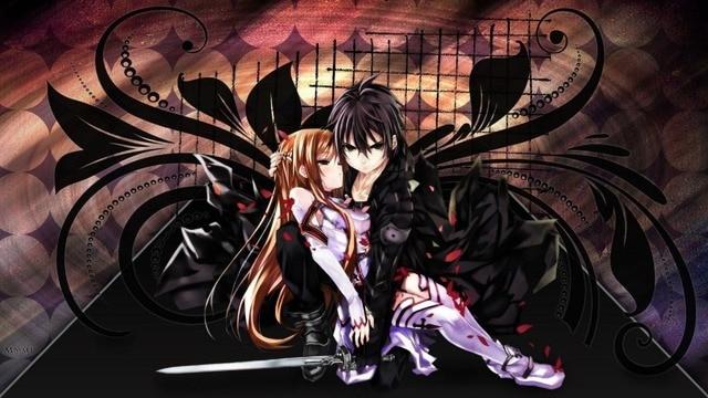 S0204 Hot Japan Anime Posters 30x90cm Sword Art Online Fighting