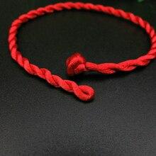 CHENFAN Sale 1PC Fashion Red Thread String Bracelet Lucky Handmade Rope for Women Jewelry knot bracelet
