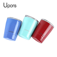 Upors 8oz Tumbler Stainless Steel Coffee Mug Double Wall Vacuum