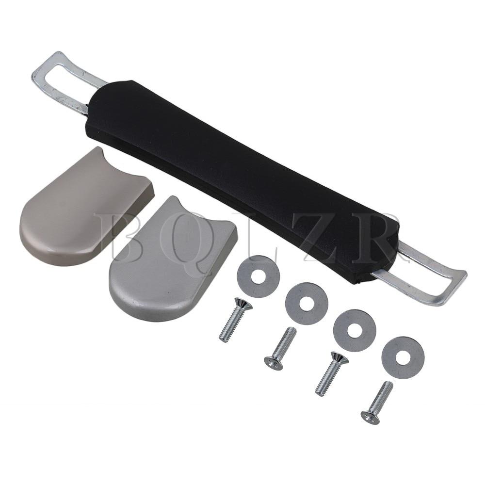 BQLZR Suitcase Luggage Flexible Plastic 12cm Spare Strap Carrying Handle Grip 2pieces diy bqlzr 9 1cmx10 7x4 9cm black plastic left