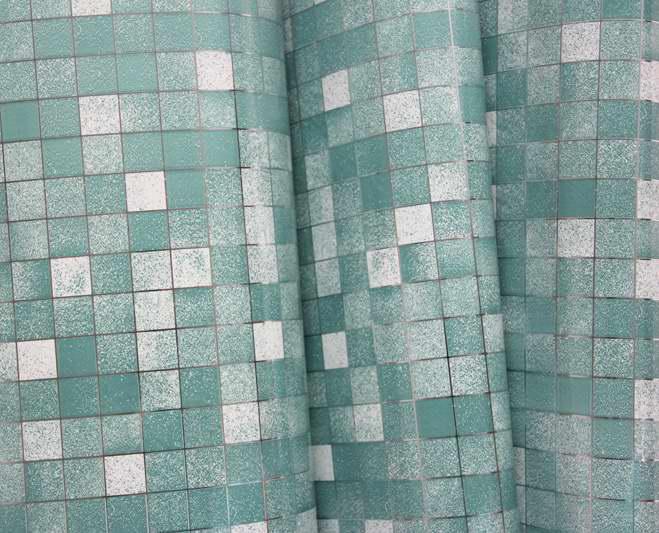 5 Metr Alüminium folqa Öz-özünə yapışan Mozaika Etiketləri - Ev dekoru - Fotoqrafiya 6