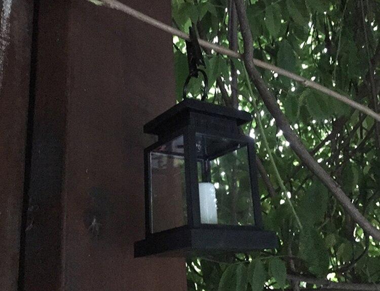 Stile europeo lampada della luce solare ha condotto la candela