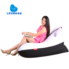 LEVMOON Beanbag Sofa Chair Mashimaro Seat zac Shell Comfort Bean Bag Bed Cover Without Filler Cotton Indoor Beanbag Lounge Chair