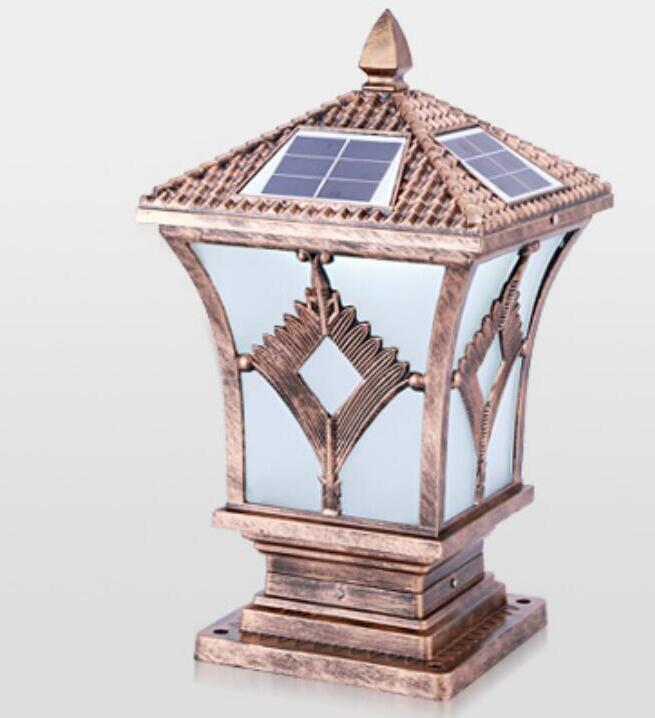 Открытый Солнечный свет энергии Открытый стены светодиодный фонарный столб бытовой сад Водонепроницаемый свет fg204