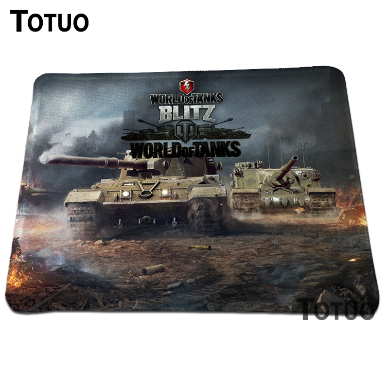 New arrival World of Tanks Gaming Optical Mouse Pad Anti-slip Notebook Computer Mouse Mat Rectangular Lock Edge Mouse Pads