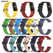 Silicone Wristband Strap for Fitbit Charge 3 Fitne