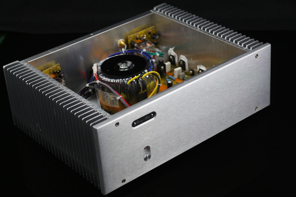 Zerozone Finished Hifi Stereo Power Amplifier On Njw0281g Njw0302g Hi Fi Preamplifier Class A With Bc550 Amp 150w L6 5 In From Consumer Electronics Alibaba