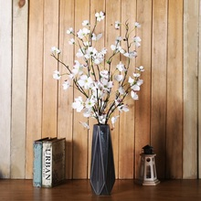Xuanxiaotong 1pcs Fake Silk Wolfberry Flower Branches for Home Decor Party Decoration Artificial Flowers Festive Flowers 1 goji wolfberry