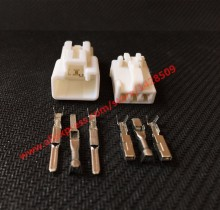 10 Sets 3 Pin Yazaki 7282-1030 Wire Connector Female And Male Electrical Connector Reading Lamp Fog Lamp Headlight Sensor Socket