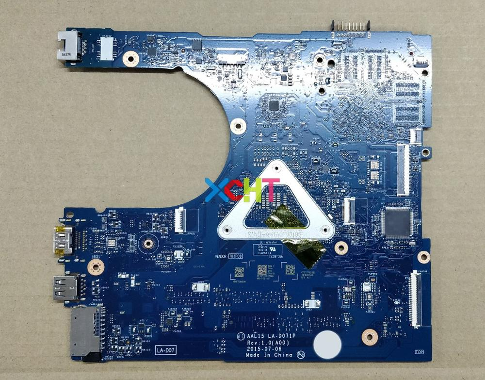 Image 2 - for Dell Inspiron 15 5559 RV4XN 0RV4XN CN 0RV4XN AAL15 LA D071P REV:1.0(A00) i7 6500U Laptop Motherboard Mainboard Tested-in Laptop Motherboard from Computer & Office